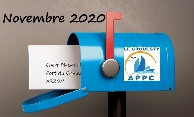 Image Nouvelles de l'APPC novembre 2020