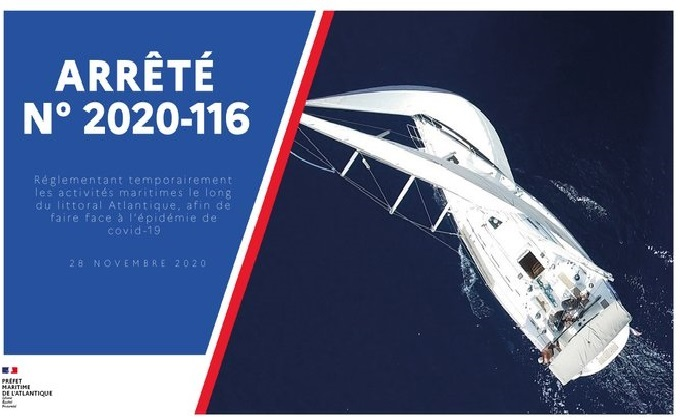 Reprise partielle des activités nautique 28 novembre 2020
