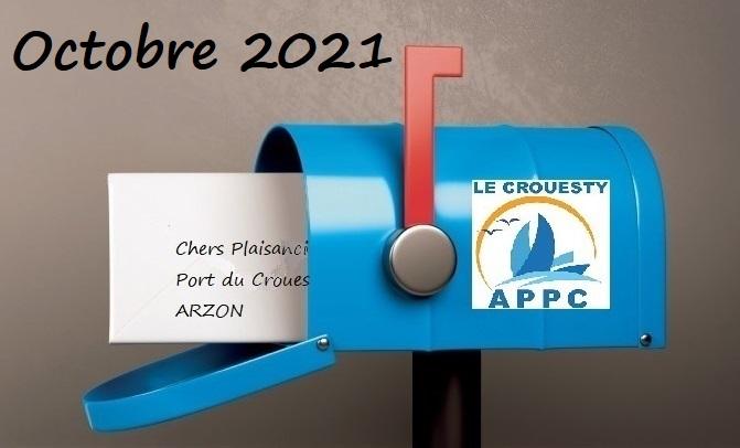 Image Nouvelles de l'APPC Octobre 2021